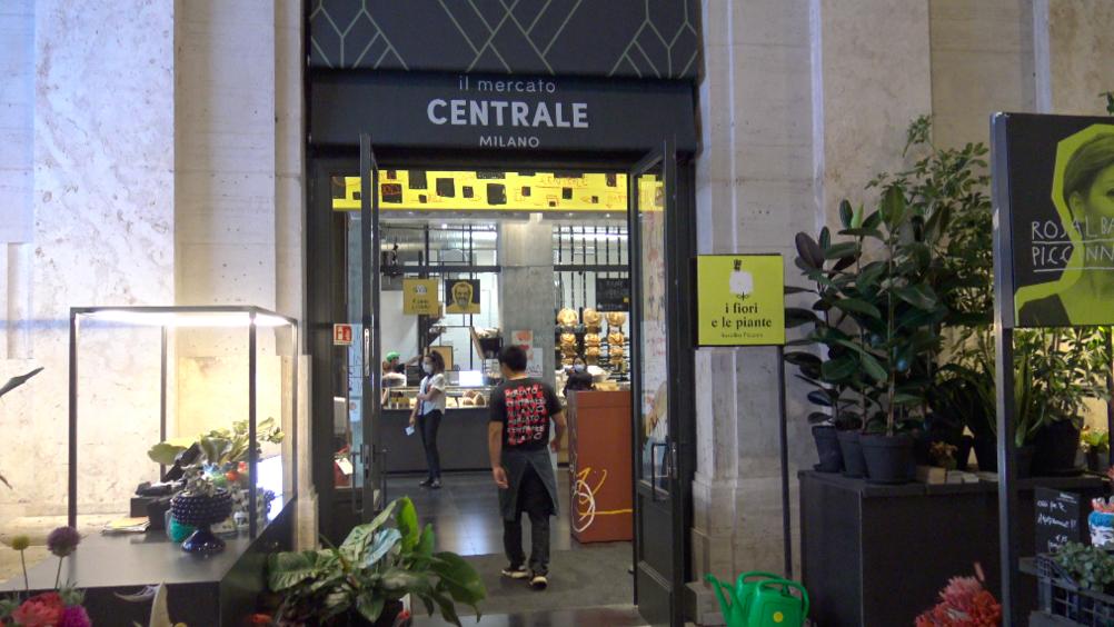 Mercato Centrale inaugura a Milano