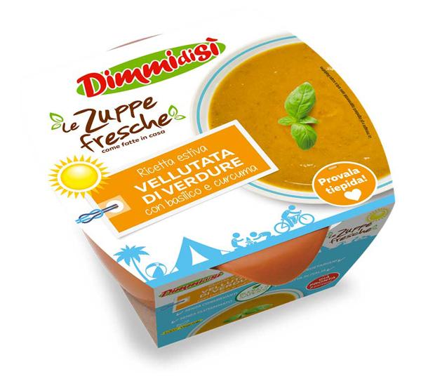 In arrivo tre nuove Zuppe Fresche Dimmidisì