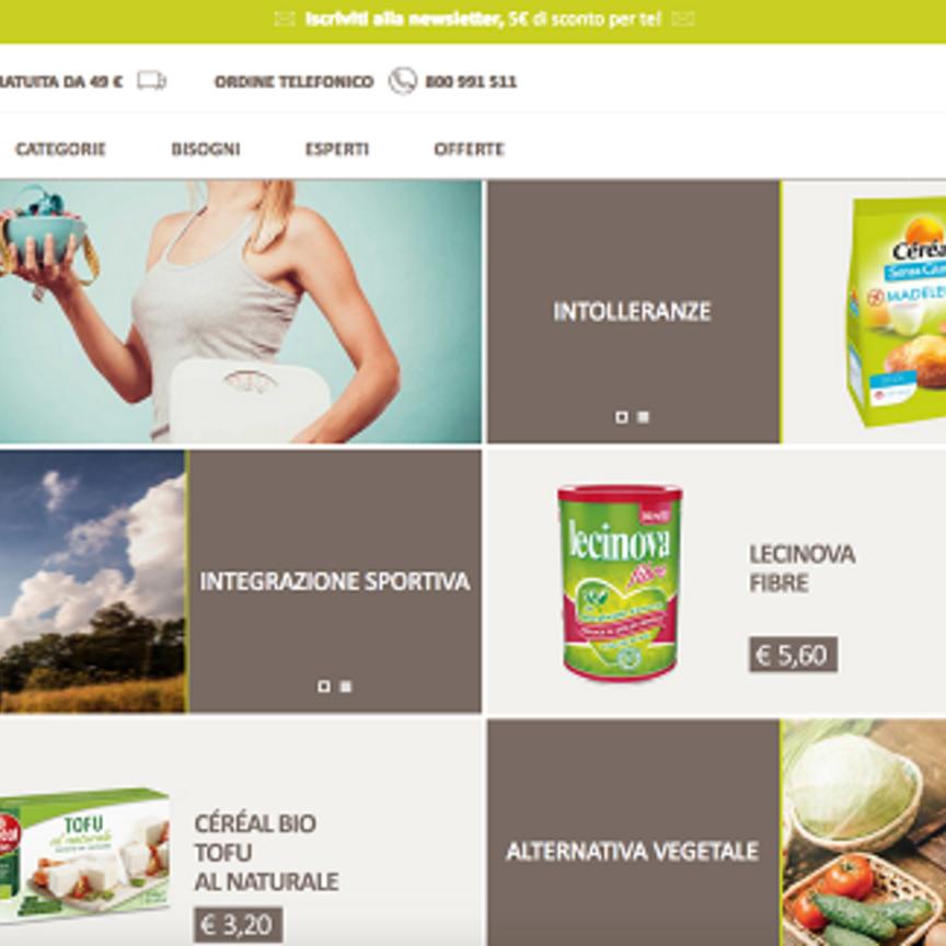 Nutrition et Santé lancia la piattaforma e-commerce