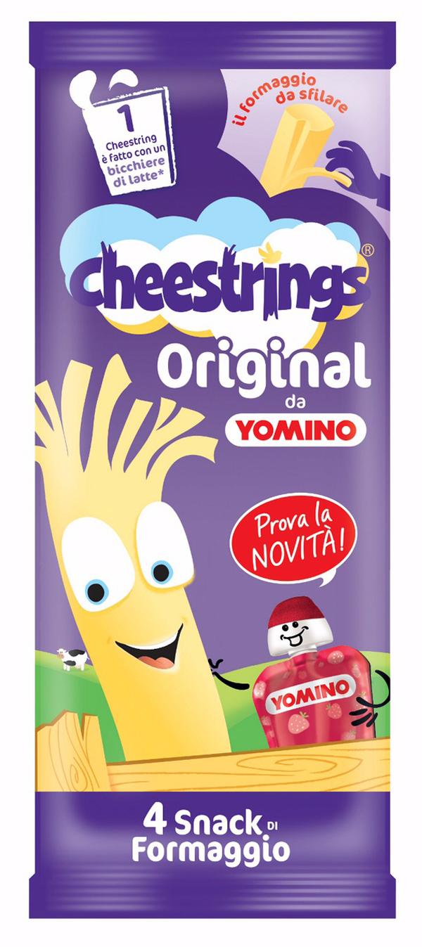Granarolo e Kerry Foods presentano Cheestrings da Yomino