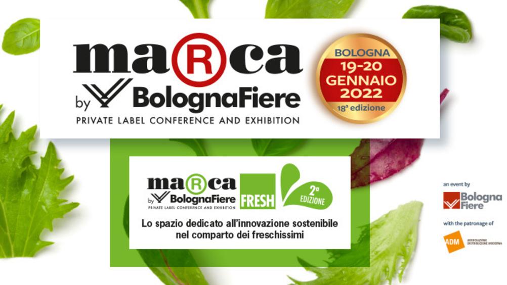MarcabyBolognaFiere propone la seconda edizione di Marca Fresh, il format esclusivo dedicato ai prodotti freschi  con uno sguardo rivolto all'innovazione sostenibile