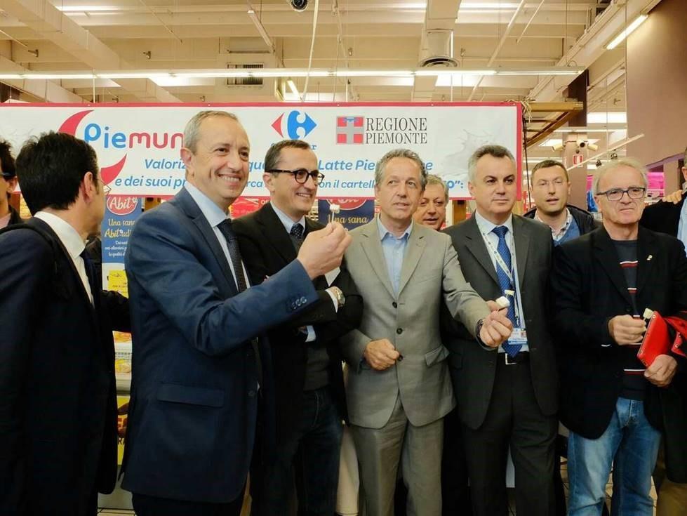 Carrefour e Regione Piemonte presentano la linea Piemunto