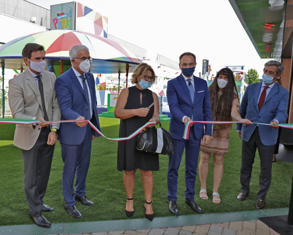 Vicolungo The Style Outlets inaugura il «Kinder Joy of moving Park»