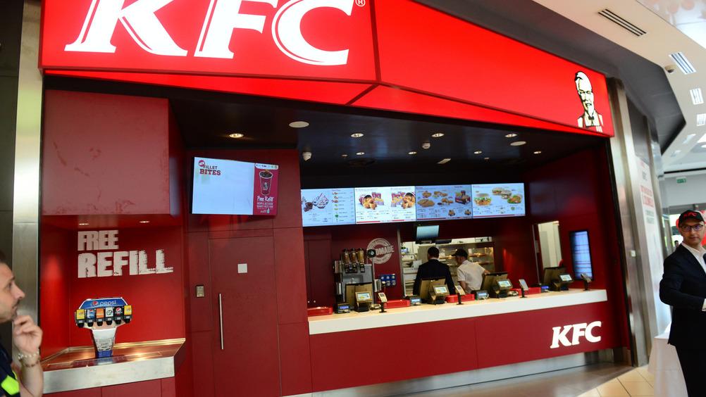 Kfc, qui il locale di Pompei, è uno dei protagonisti della food court