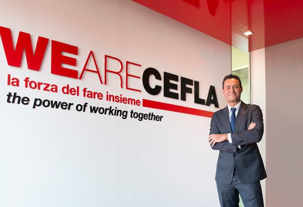 Cefla: 2015 ancora in crescita, Balducci riconfermato presidente