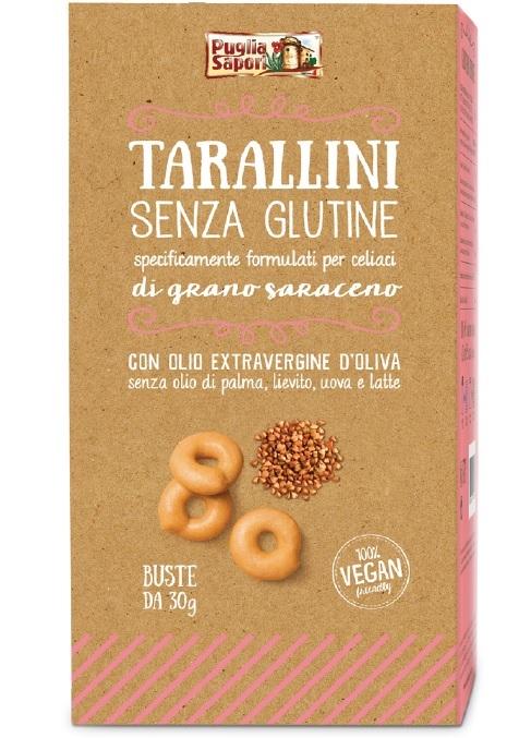 Puglia Sapori lancia i tarallini senza glutine al grano saraceno