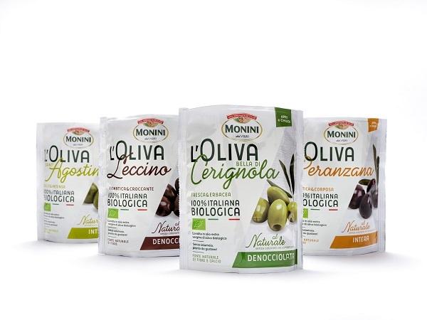 """Monini presenta la gamma di olive da tavola """"L'Oliva"""""""
