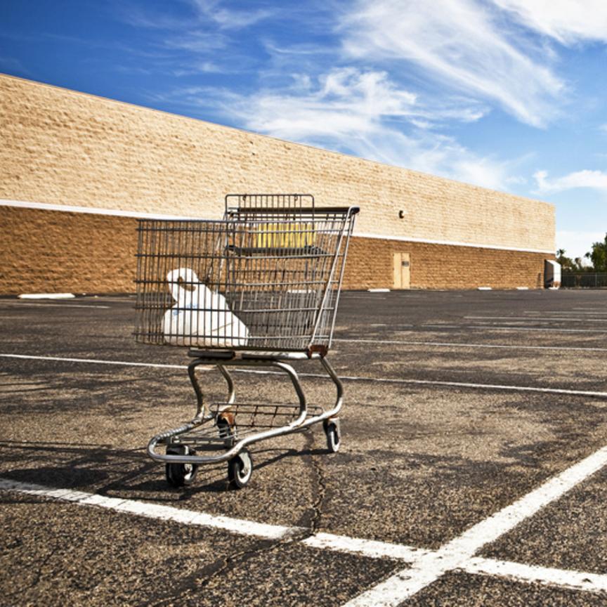 I centri commerciali inglesi rischiano l'abbandono
