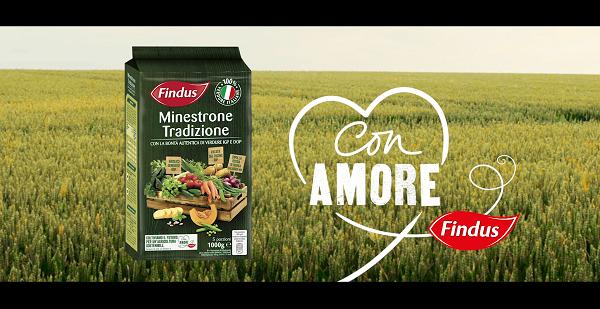 Findus è on air con il Minestrone 100% italiano