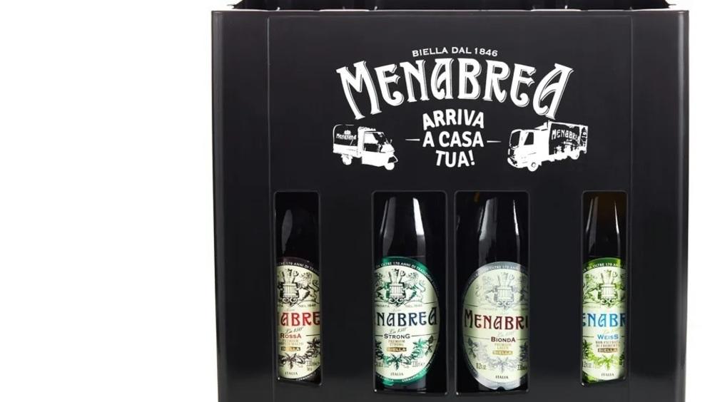 Birra Menabrea lancia la cassettina di birra personalizzabile