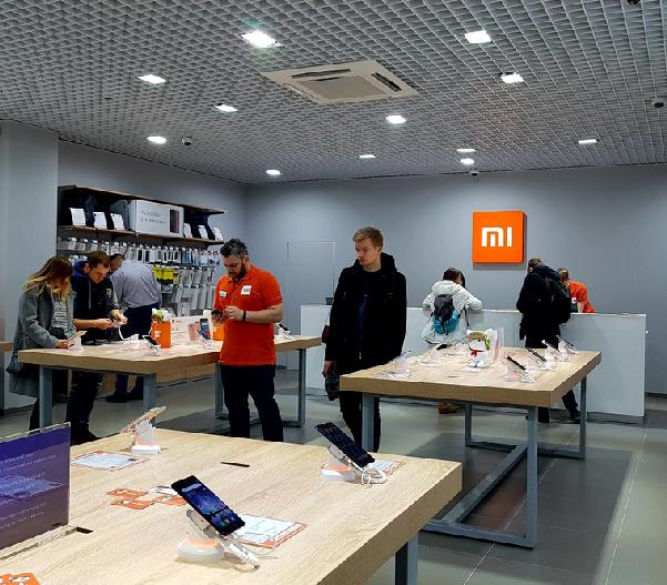 Xiaomi continua la marcia trionfale nei grandi complessi commerciali