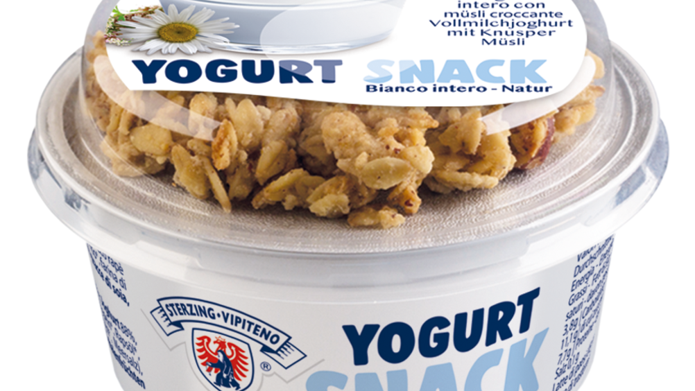 Latteria Vipiteno: arrivano due nuovi yogurt snack
