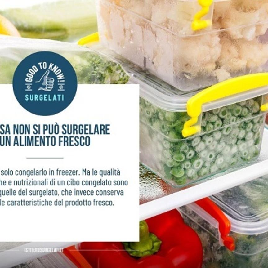 """Surgelati: aumentano i consumi ma scarsa conoscenza dei prodotti """"sotto zero"""""""
