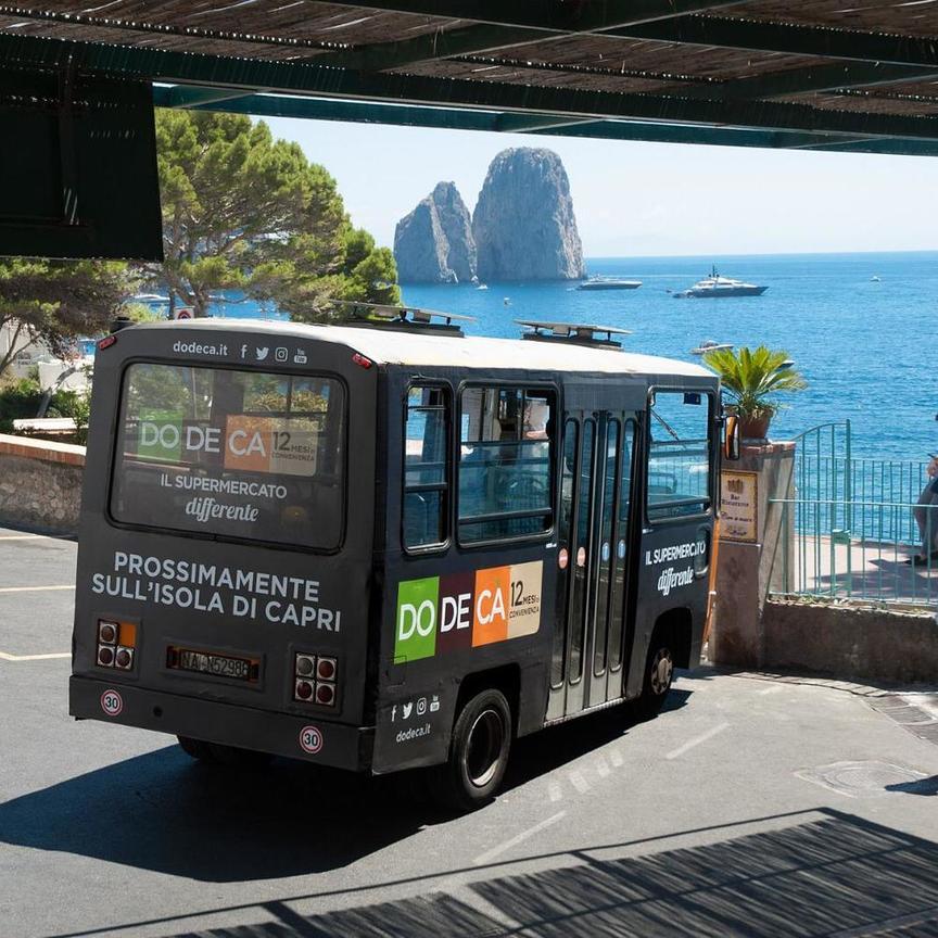 Dodecà  approda a Capri