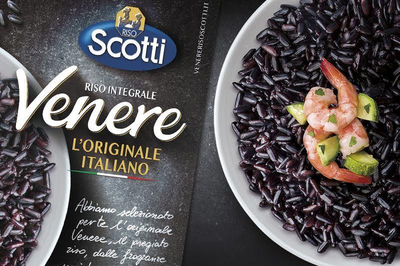 Dal 2022 il riso Venere è un'esclusiva di Scotti. A Identità Golose le nuove linee