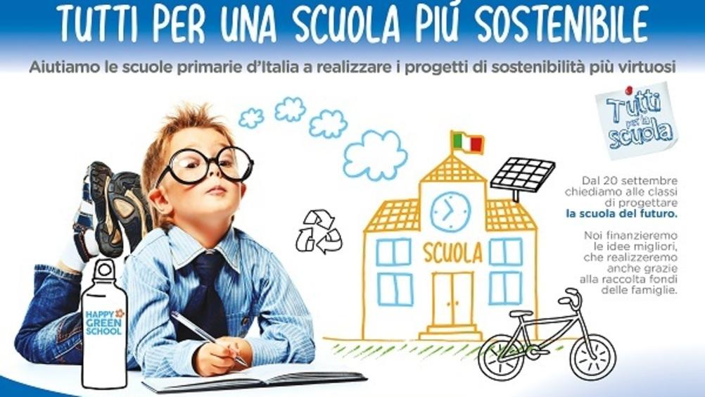 Selex Gruppo Commerciale lancia il progetto 'Happy Green School'