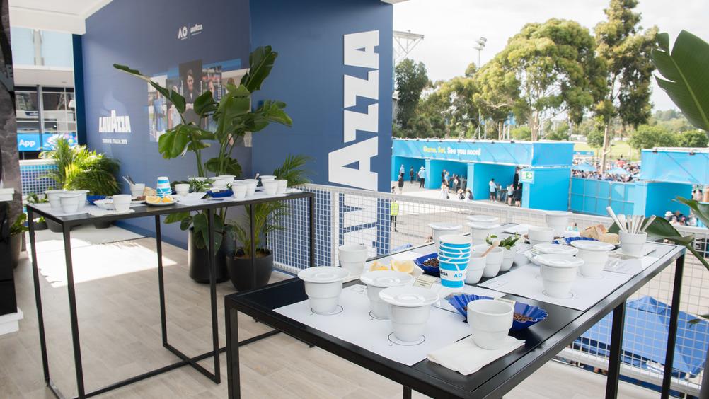 Lavazza torna in campo con un nuovo team di brand ambassador agli Australian Open