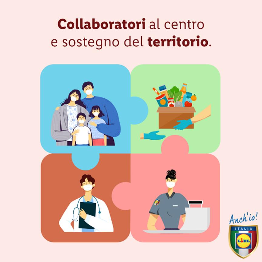 Lidl Italia mette l'accento sulla responsabilità sociale