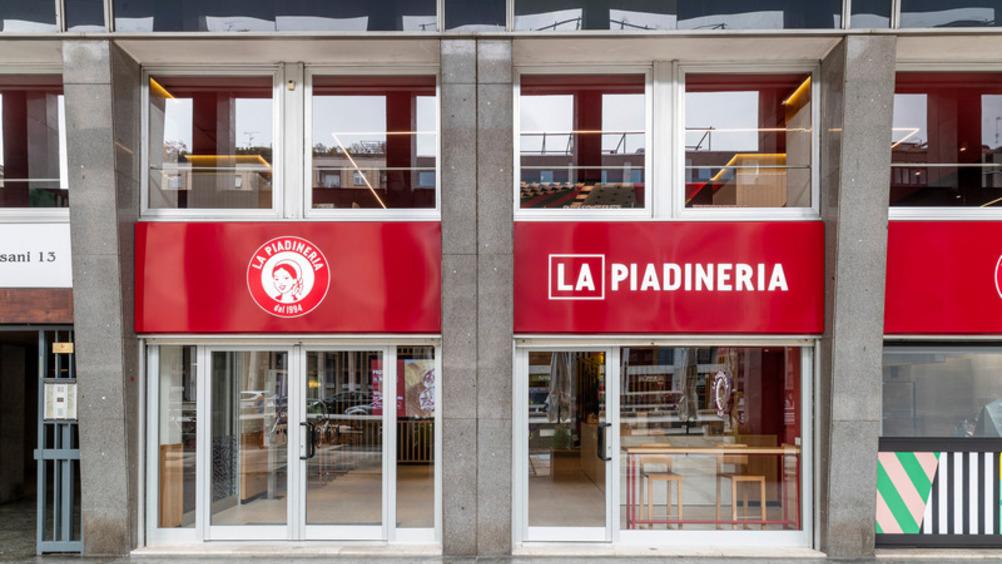 Quattordici nuove aperture per i ristoranti La Piadineria