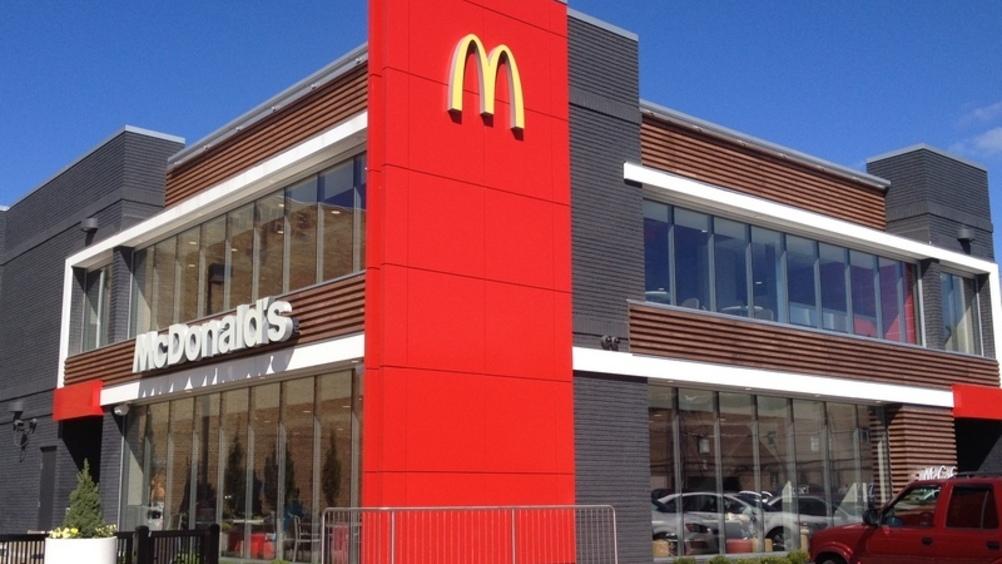 McDonald's pianta l'albero dei burger