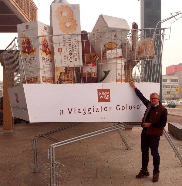 Il Viaggiator Goloso, con Amazon, arriva in tutta Italia