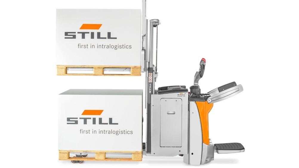 Ottimizza l'intralogistica con i magazzinieri a pedana STILL EXH-SF e EXD-SF