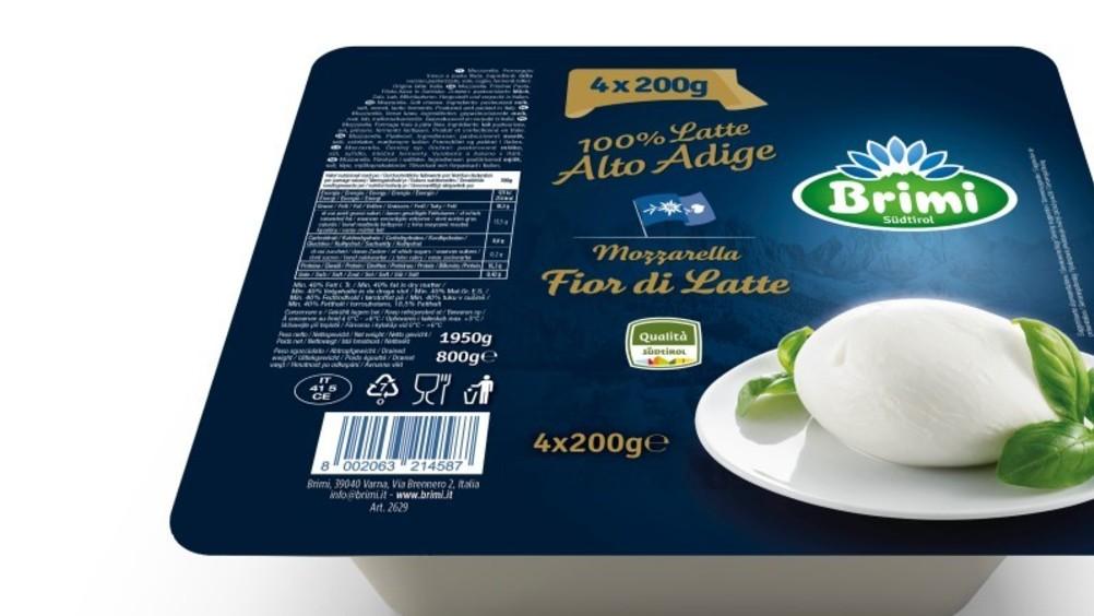 Brimi presenta la nuova mozzarella Fior di latte nel formato in vaschetta