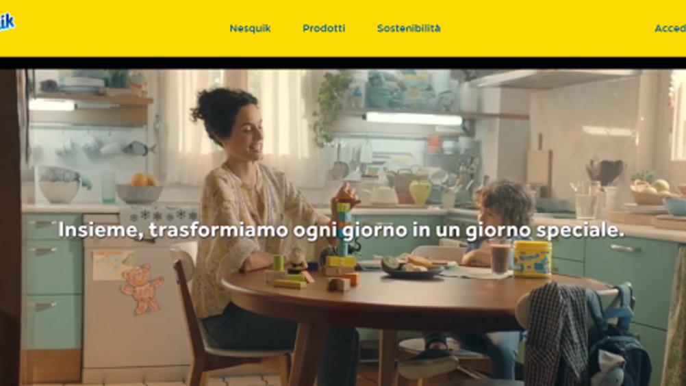 Nesquik torna in tv e rinnova il sito web