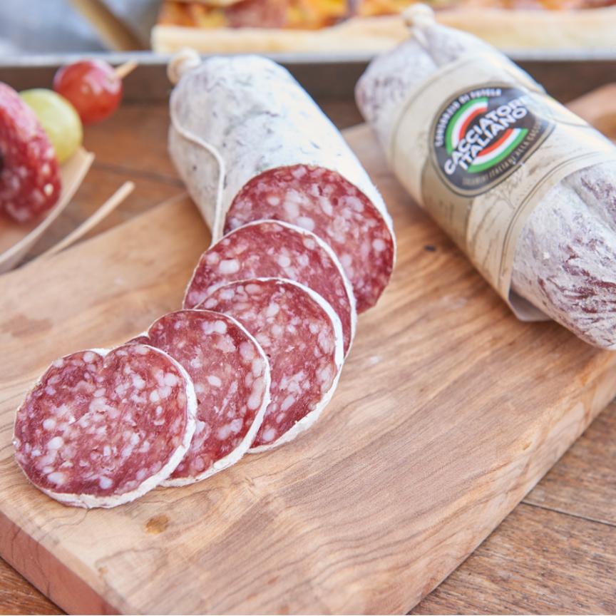 Salame Cacciatore italiano: segno più per la produzione nel 2019