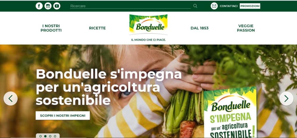 Bonduelle, al via la nuova campagna digital