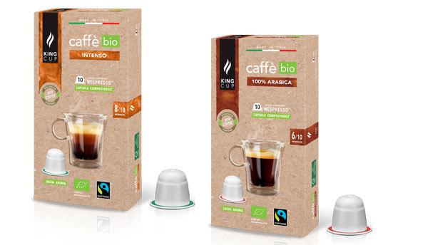 King Cup presenta le nuove biocapsule compostabili Nespresso