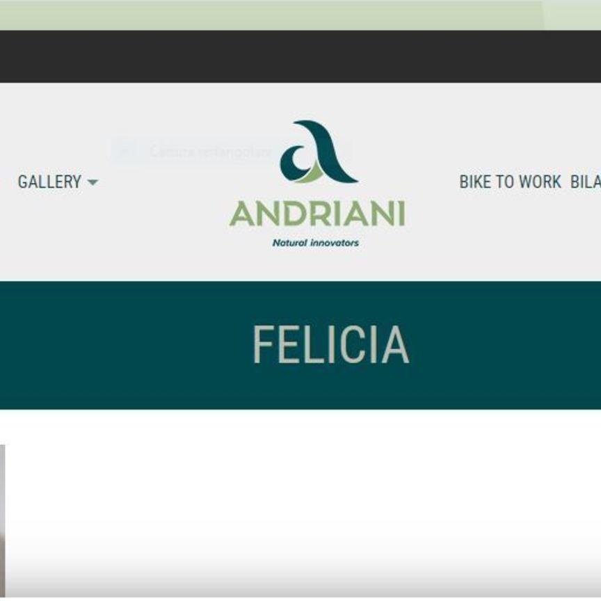 Felicia sostiene l'ospedale di Bergamo