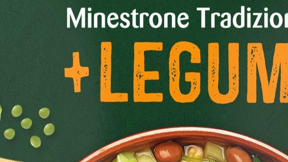 """Findus, arriva la novità """"minestrone tradizione + legumi"""""""