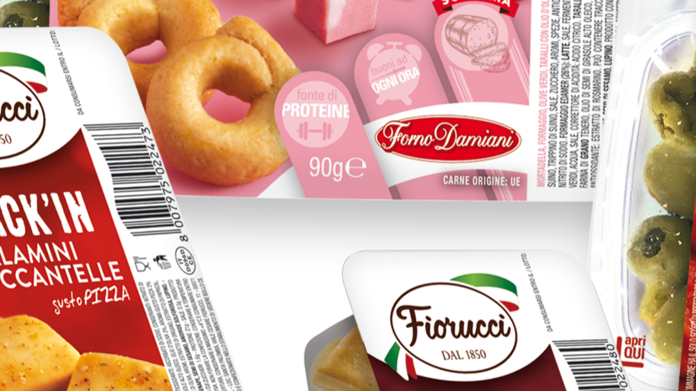 Fiorucci lancia la nuova linea Snack'In