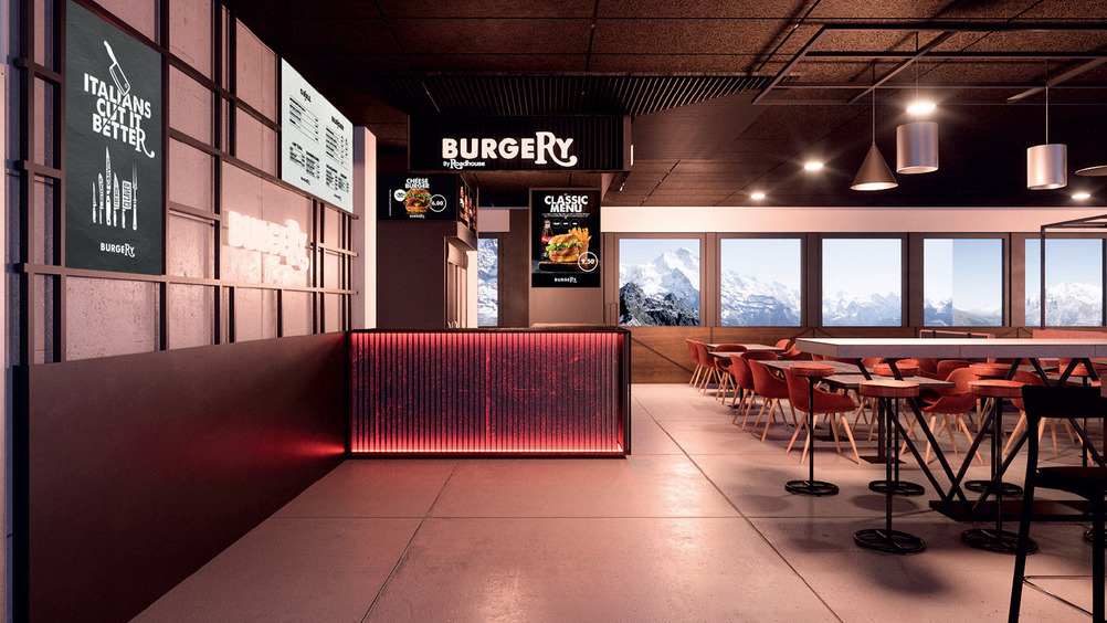 Il ristorante della piemontese Burgery