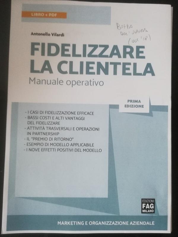 """In arrivo il manuale operativo """"Fidelizzare la clientela"""""""
