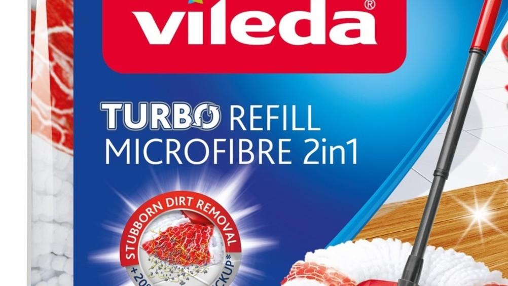 Vileda presenta Turbo Microfibre 2in1
