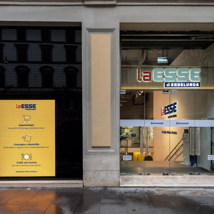Esselunga, avanti sui negozi di vicinato: apre il primo laEsse a Roma