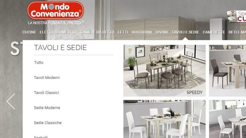Mondo Convenienza apre a Salerno