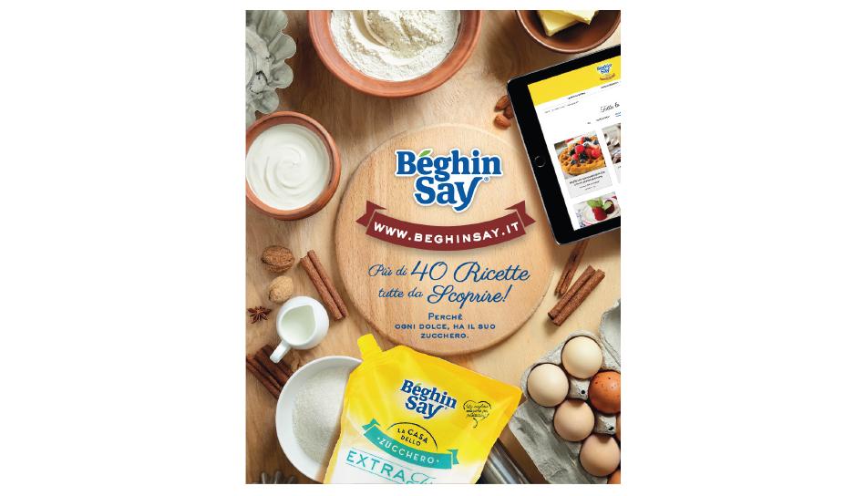 Béghin Say® lancia il suo nuovo website: www.beghin-say.it Più di 40 ricette da scoprire!