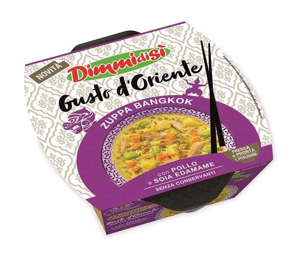 DimmidiSì propone le zuppe Gusto d'Oriente