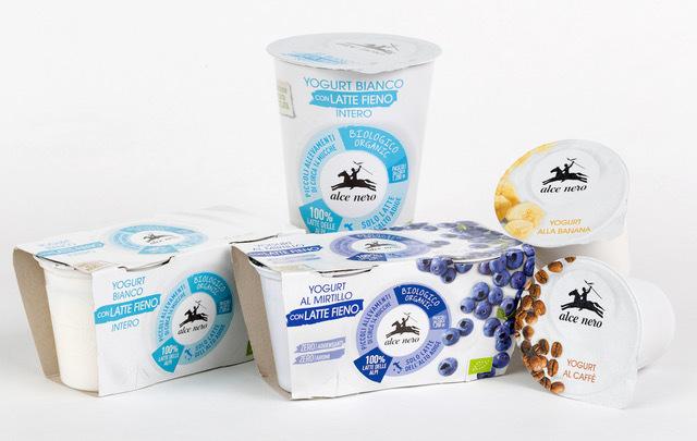 """Alce Nero e Mila insieme per il primo yogurt bio """"Latte e Fieno"""""""