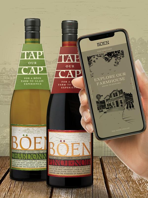 Böen adotta la tecnologia NFC per le sue bottiglie