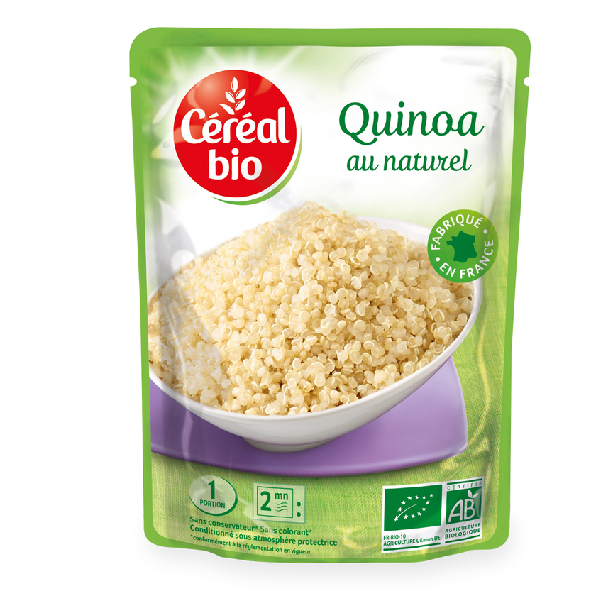 Céréal Bio presenta Quinoa Bio al naturale