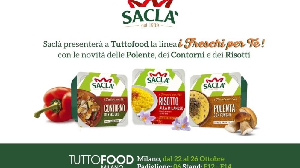 """Saclà a Tuttofood con le nuove referenze della linea """"I Freschi per Te!"""""""