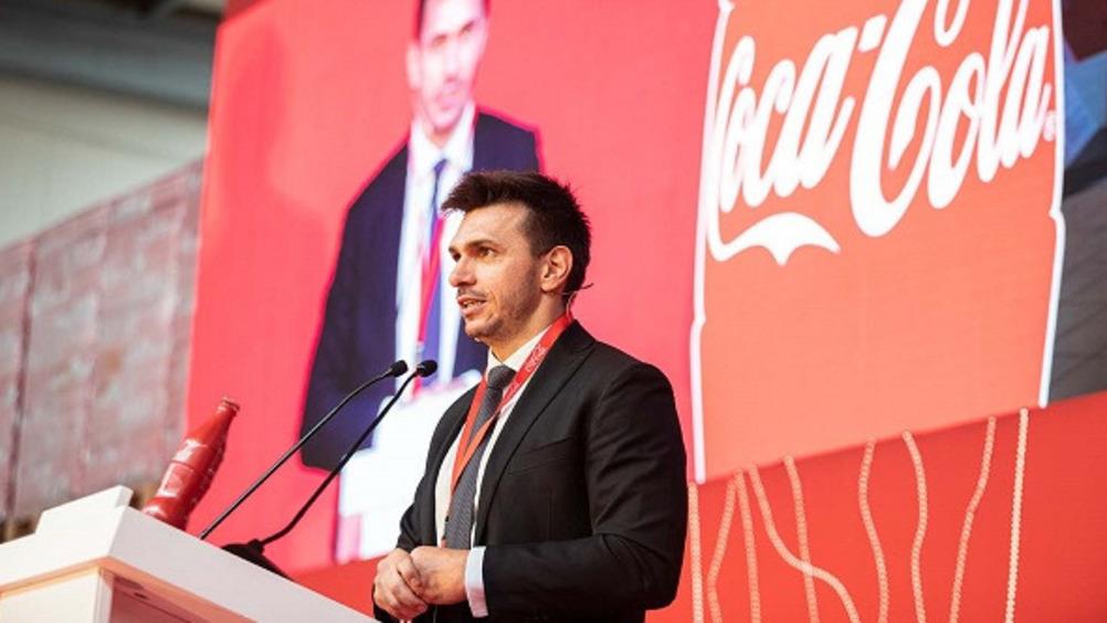 Vitaliy Novikov, general manager di Coca-Cola HBC Italia