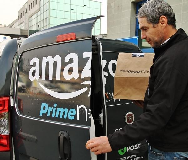 U2 e NaturaSì a tempo record con Amazon Prime Now