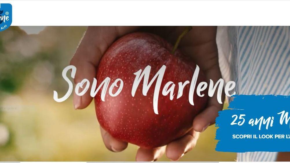 Le mele Marlene debuttano con la nuova immagine
