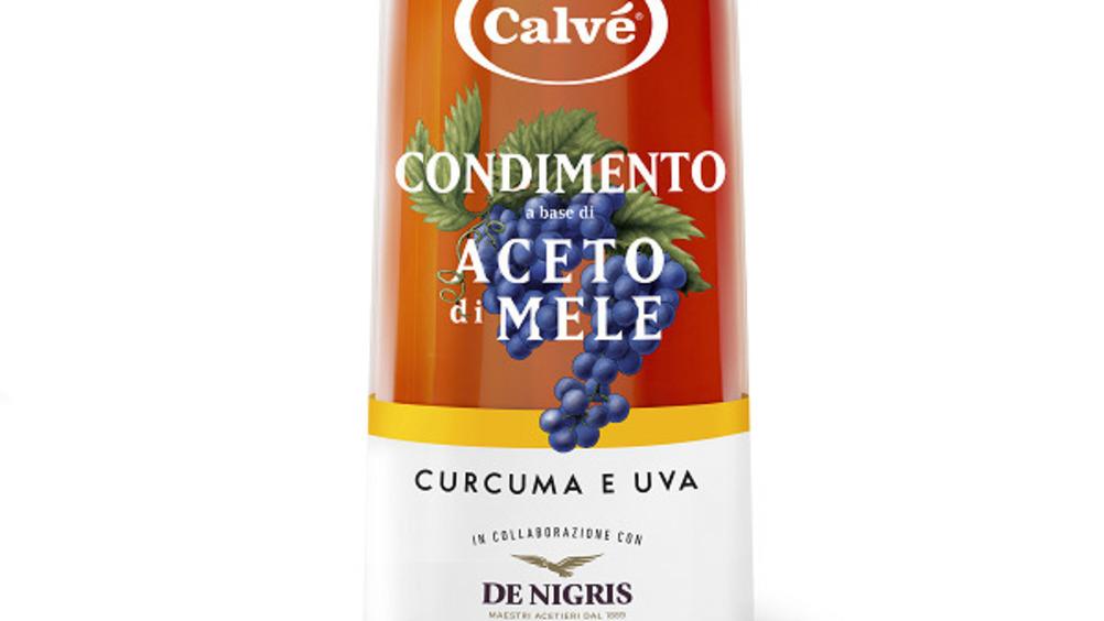 Condimento a base di aceto di Mele con Curcuma e Uva