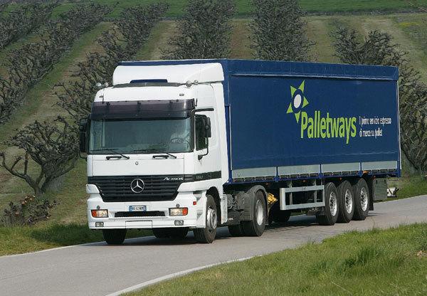 Palletways ottiene la ISO 14001